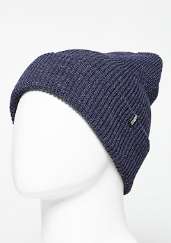 Beanie Fisherman navy melange