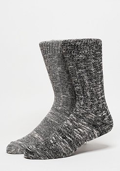 SNIPES Fashionsocke Melange black/grey