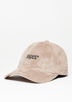 SNIPES Baseball-Cap Velours taupe