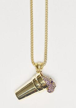 Kette Snoop Dogg Jungl Julz Purple Drank gold