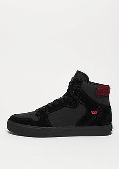 Schuh Vaider black/red herrringbone/black