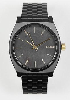 Uhr Time Teller matte black/gold
