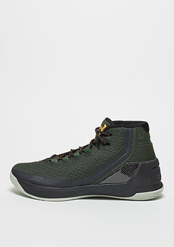 Basketballschuh Curry 3 Marksman artillery green/black/radiate