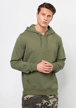 Hooded-Sweatshirt Basic olive