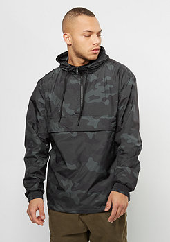 Urban Classics Camo Pull Over dark camo