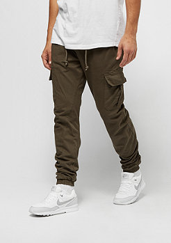Trainingshose Cargo Jogging olive