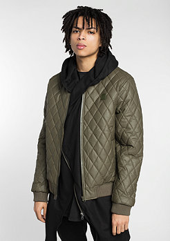 Diamond Quilt dark olive