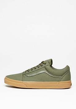 Skate Schuh Old Skool Canvas Gum ivy green/light gum