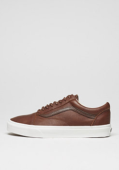 Skate Schuh Old Skool Leather dachshund/potting soil