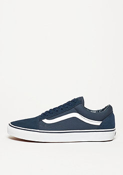 Skate Schuh Old Skool Suede Canvas teal/true white