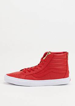 Skateschuh SK8 Hi Gold Tongue red
