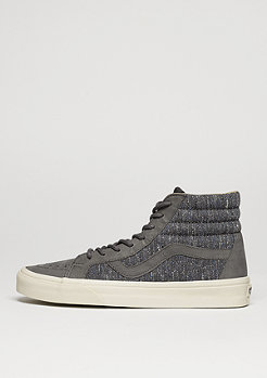 Skateschuh SK8-Hi Reissue DX Tweed grey