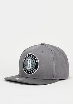 Snapback-Cap Variant NBA Brooklyn Nets grey