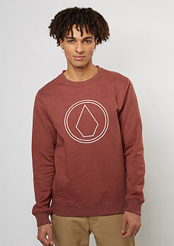 Sweatshirt Stone red
