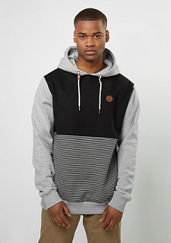 Hooded-Sweatshirt Threezy heather grey