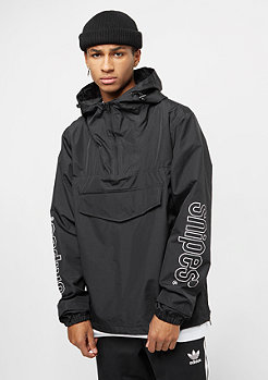 SNIPES Windbreaker black/white