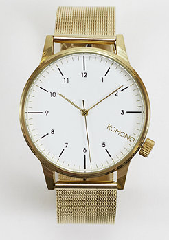 Uhr Winston Royale gold/white
