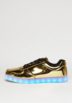 Schuh LED gold