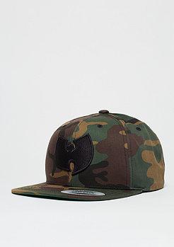 Snapback-Cap Wu-Logo camo/black