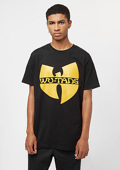 T-Shirt Wu-Logo black/yellow