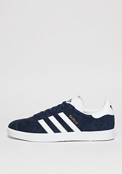 Schuh Gazelle collegiate navy/white/gold metallic