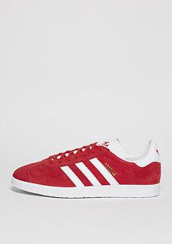 Schuh Gazelle scarlet/white/gold metallic