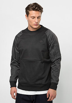 adidas Sweatshirt ST Jacquard black