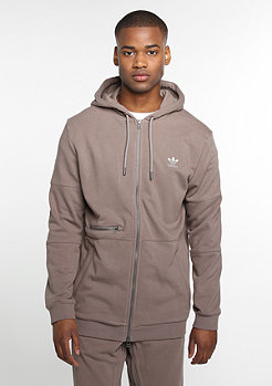 Hooded-Zipper ST Mod trace brown