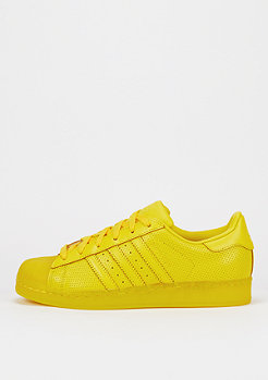Schuh Superstar Translucient yellow