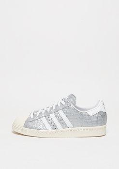 Schuh Superstar 80s matte silver/white/white