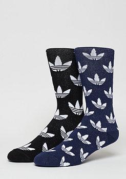 adidas Fashionsocke Thin Crew Sock 2er Pack black