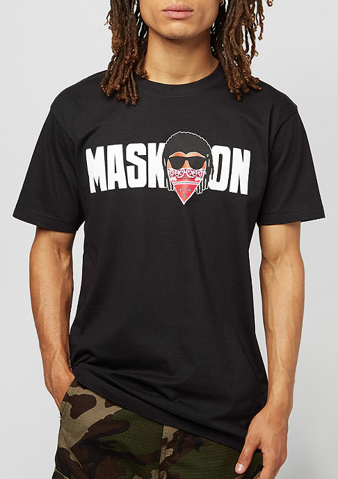 Mister Tee Mask On Mask Off black