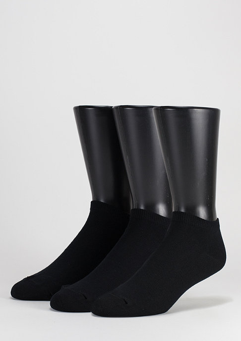 SNIPES No Show Socks 3er Pack black