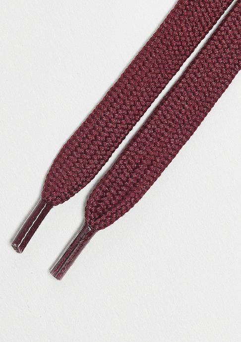 SNIPES Schnürsenkel 120cm bordeaux