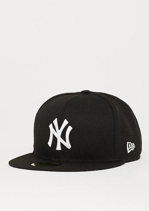 New Era Fitted-Cap 59Fifty Basic MLB New York Yankees black