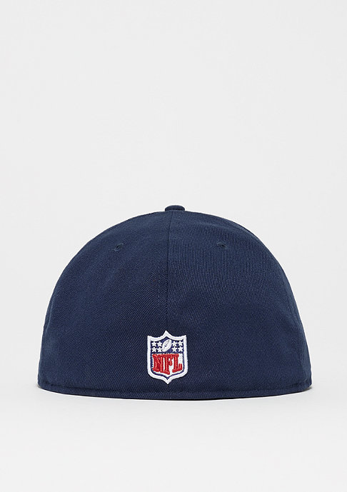 New Era Fitted-Cap 59Fifty On Field NFL New England Patriots navy