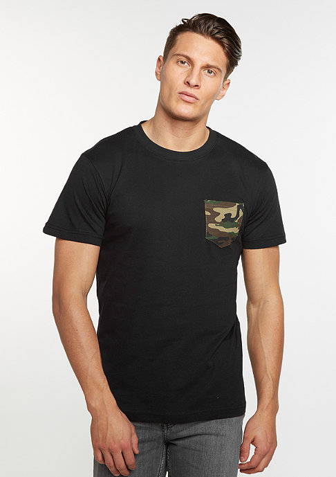 Urban Classics Camo Pocket black
