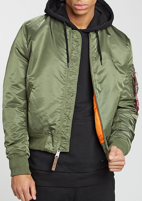 Alpha Industries MA-1 VF 59 sage green