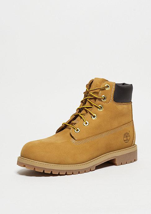 Timberland Kids 6-Inch Classic Boot Pemium wheat