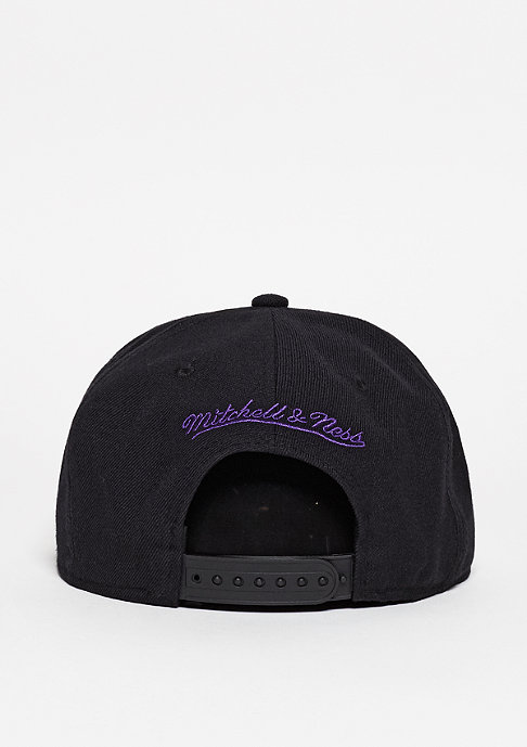 Mitchell & Ness Snapback-Cap Wool Solid Los Angeles Lakers black
