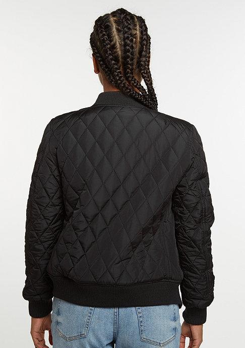 Urban Classics Diamond Quilt Nylon black