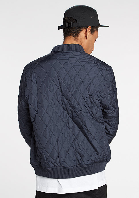 Urban Classics Jacke Diamond Quilt Nylon navy