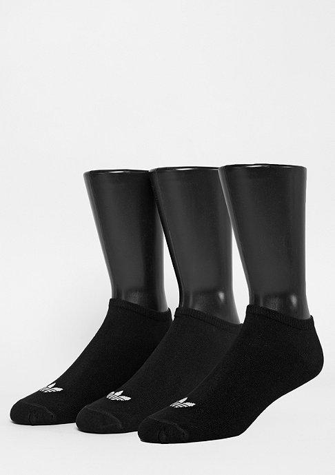 adidas Sportsocke Trefoil Liner black