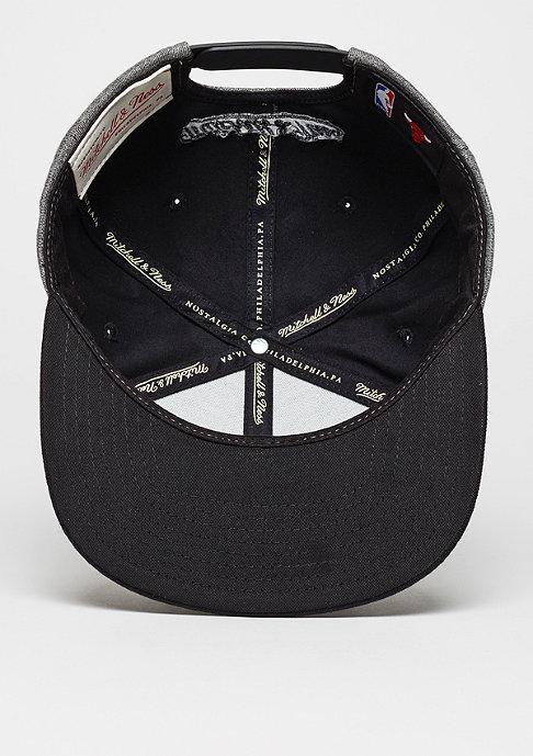 Mitchell & Ness Snapback-Cap Broad NBA Chicago Bulls grey/black