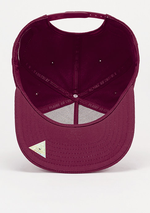 Cayler & Sons Snapback-Cap 3D Logo Reptile wine