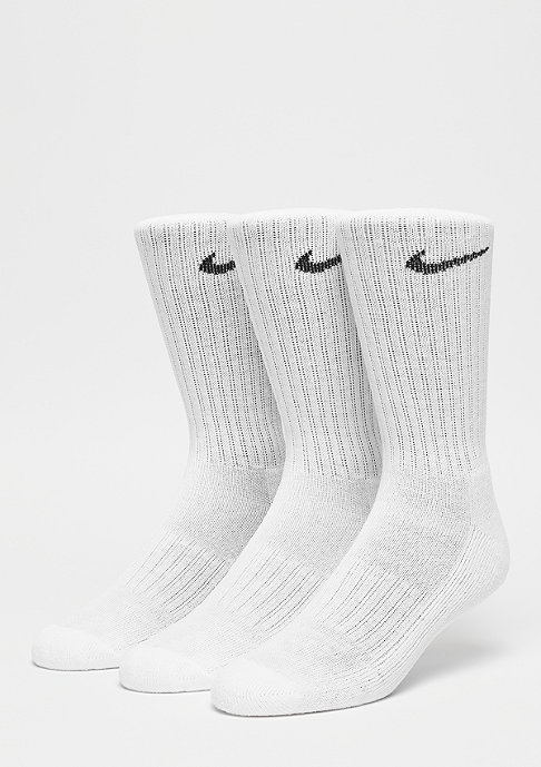 NIKE Value Cotton Crew 3Pack white/black