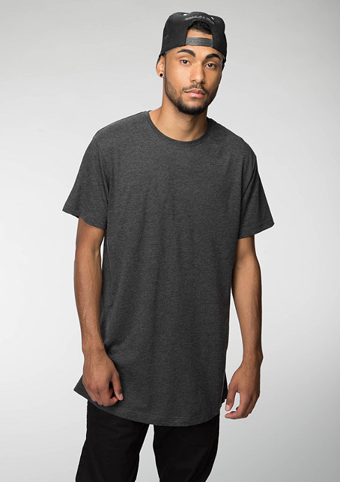 Urban Classics Shaped Long charcoal