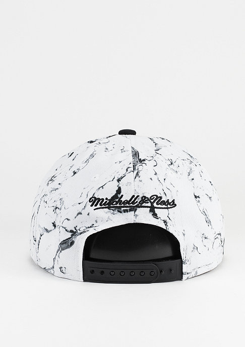 Mitchell & Ness Snapback-Cap Marble Own Brand white