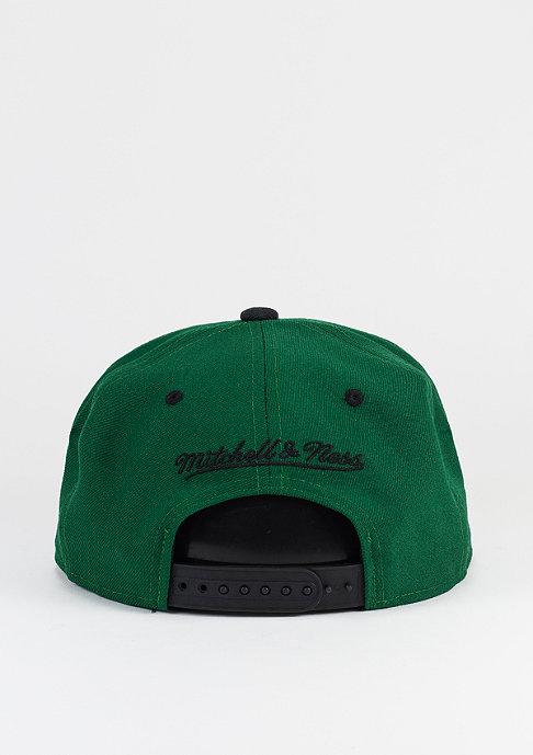 Mitchell & Ness Snapback-Cap Team Arch HWC Boston Celtics green/black