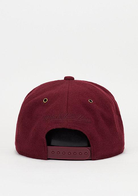Mitchell & Ness Snapback-Cap Prime burgundy